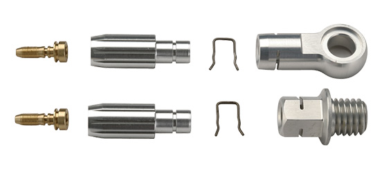 Hydraulic End Fittings-OPTIO HYDRALUIC END FITTINGS: Pat. Pending