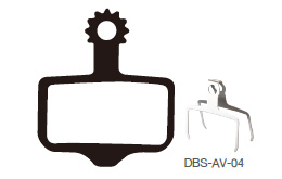 Disc Brake Pads-AVID: DPS-AV-04-X-B