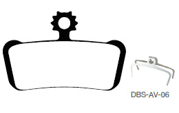 Disc Brake Pads-AVID: DPS-AV-06-X-B