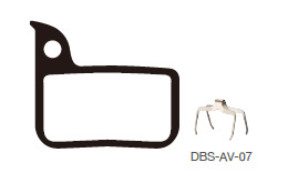 Disc Brake Pads-AVID: DPS-AV-07-X-B
