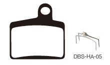 Disc Brake Pads-HAYES: DPS-HA-05-X-B