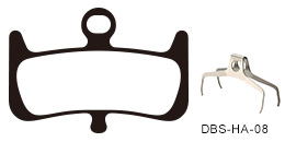 Disc Brake Pads-HAYES: DPS-HA-08-X-B
