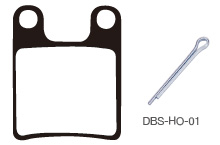 Disc Brake Pads-HOPE: DPS-HO-01-X-B