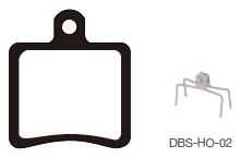 Disc Brake Pads-HOPE: DPS-HO-02-X-B