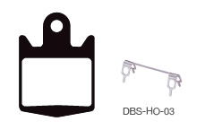 Disc Brake Pads-HOPE: DPS-HO-03-X-B