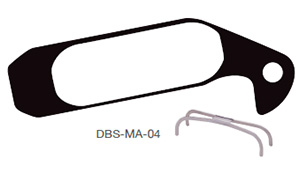 Disc Brake Pads-MAGURA: DPS-MA-04-X-B