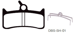 Disc Brake Pads-SHIMANO: DPS-SH-01-X-B